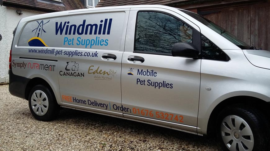 Windmill Delivery Van