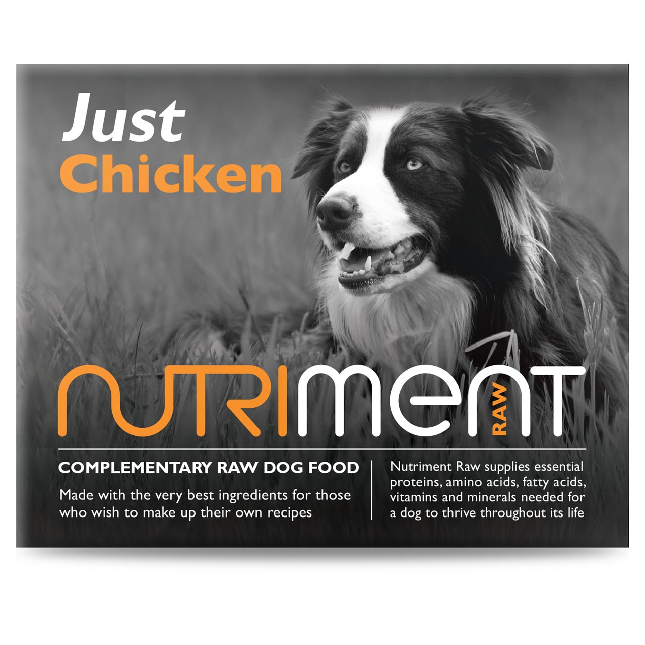 Nutriment Raw Just Range For Dogs Windmill Pet Supplies